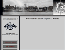 Tablet Preview of detroitlodge7.org